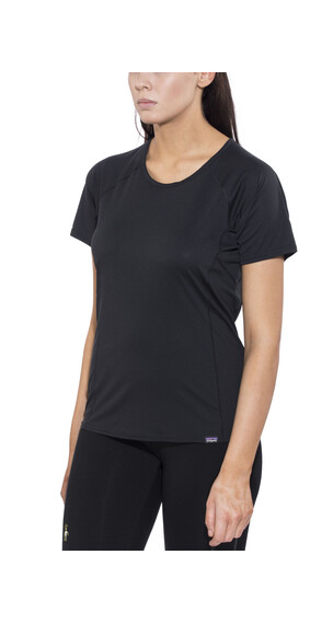 Patagonia Capilene Lightweight T-Shirt Women Black